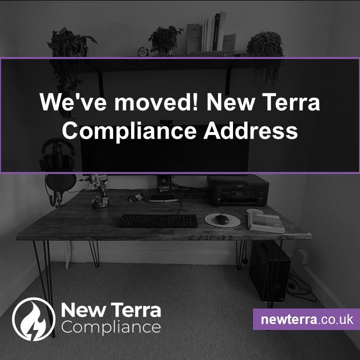 We've moved! New Terra Compliance Address