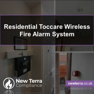 Apartment Residents Protected with new Toccare Wireless Fire Alarm Panel